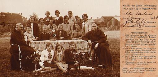 Missienaaikring Sint Rosa, opgericht in 1926