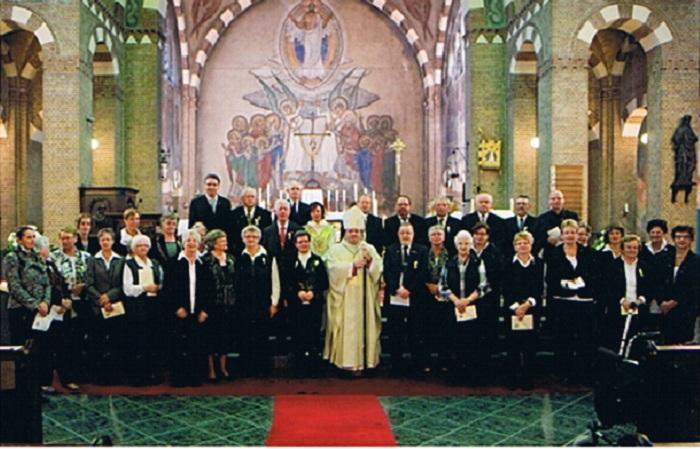Opening van het jubileumjaar door Bisschop Van den Hende