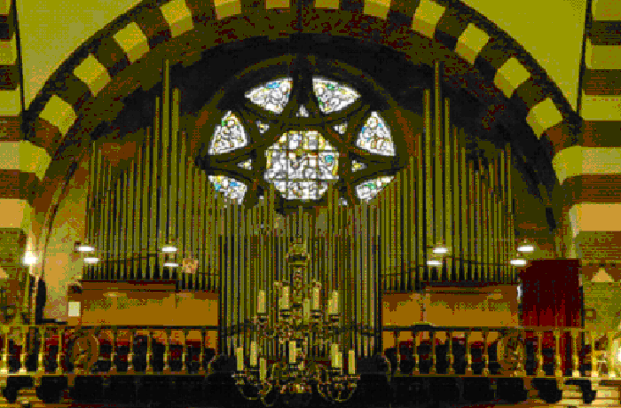 Koorzolder met orgel