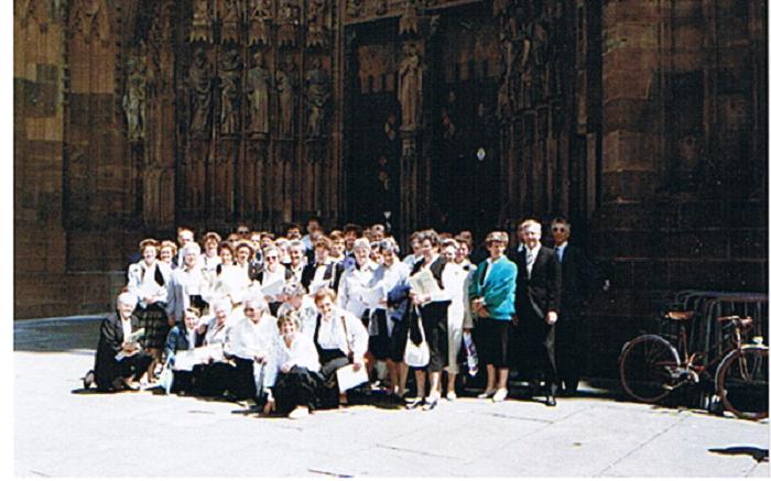 Het Bartholomeuskoor voor de kathedraal van Straatsburg