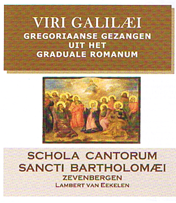CD met gregoriaanse gezangen